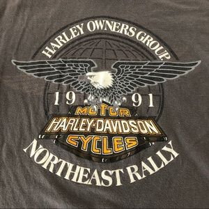 Harley-Davidson Tops - VINTAGE HARLEY DAVIDSON T-shirt 🏍
